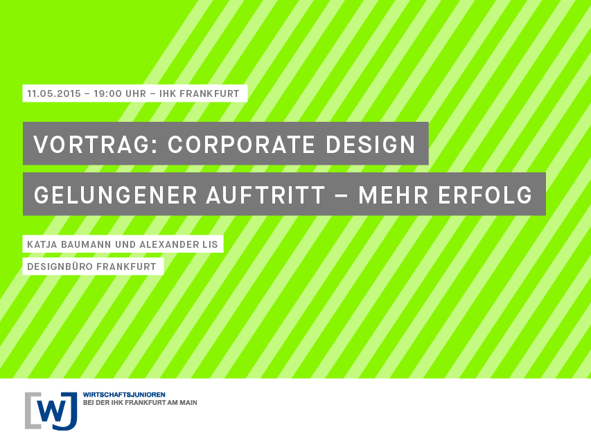 Vortrag corporate design ihk frankfurt 640 480 for Praktikum design frankfurt