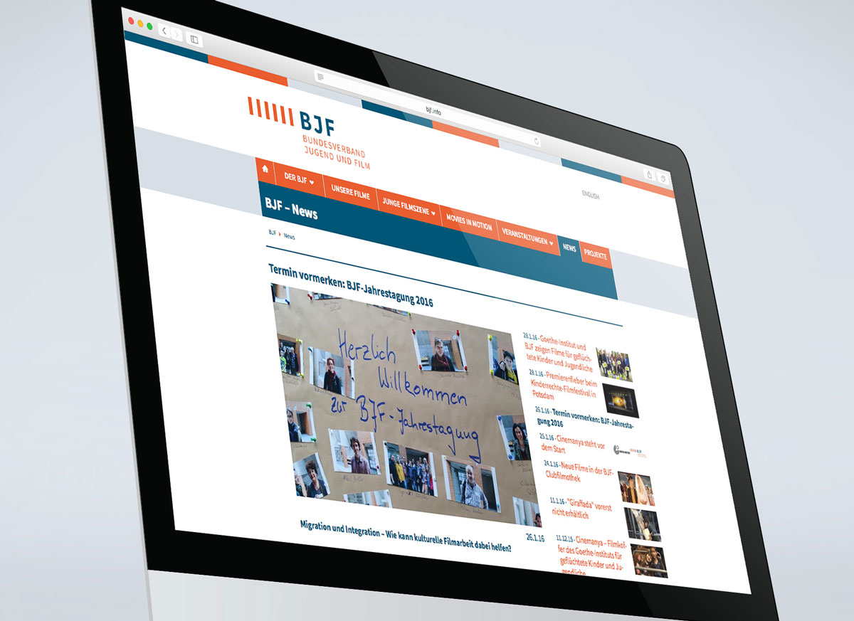 Webdesign - Bundesverband
